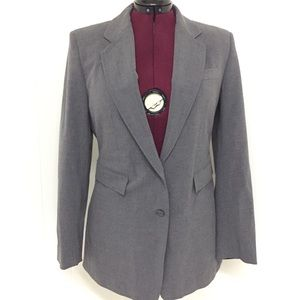 13 / 14 Long EXPRESS Stretch Gray Pant Suit Set